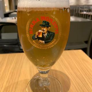 モレッティ生ビール(EATALY グランスタ丸の内店)