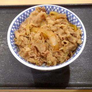 超特盛牛丼(吉野家 羽田空港第1ターミナルビル店)