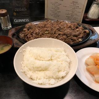 焼肉定食(大盛り)(ちんや )