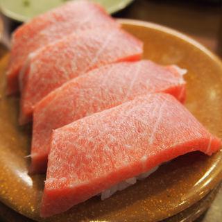 中トロ(亀正くるくる寿司 )