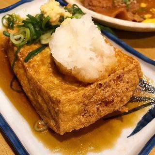 揚げだし豆腐(居酒屋ニューシンマチ )