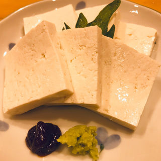 堅豆腐のお刺身(日本酒スローフード とやま方舟 富山駅店 )