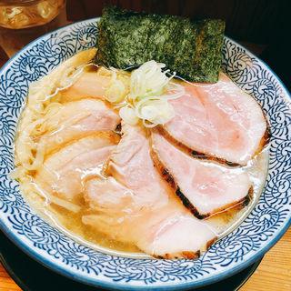 特製塩そば(麺匠而今 (ジコン))