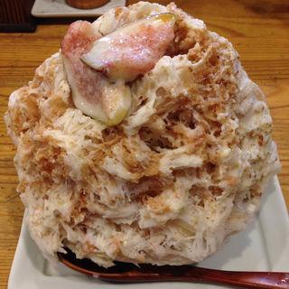 イチジクみるく(麺屋KABOちゃん)