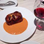 ショーソン~真鯛とウニのムースのパイ包み焼き ソースショロン