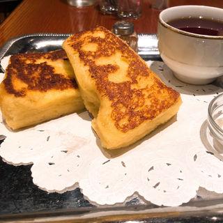 フレンチトーストセット(カフェ アリヤ)