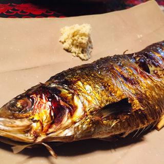 ニシンの塩焼き(まるとみ渡辺水産鮮魚介直販店)