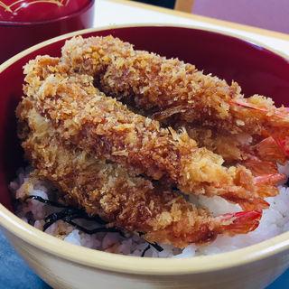 海老フライ丼(塩別つるつる温泉 )