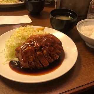 大トンテキ定食(大阪トンテキ ホワイティ梅田 )