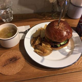 テリヤキエッグバーガー(HELLO NEW DAY Hamburger)