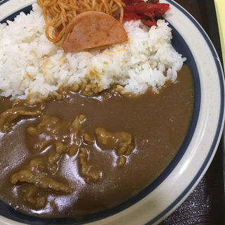 Aセット2のカレーライス(味の横綱 札幌軒)