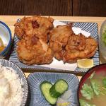 ザンギ定食(ばいこうけん)