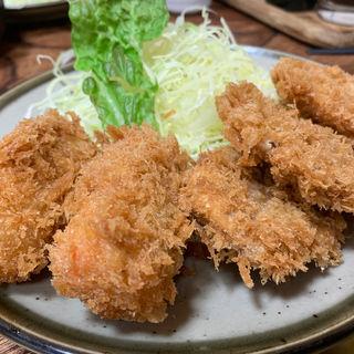 コロッケ+一口カツ(とんかつ藤芳 本店 )
