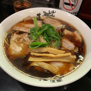 東大阪高井田風中華そば 肉増し(麺屋 丈六)