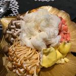 ◆ ◆ 火鍋キノコ六類盛 ◆ ◆