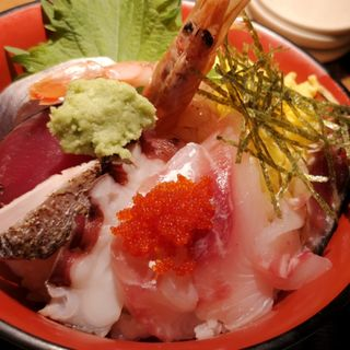 海鮮丼(山陰炉端 かば 新宿本店 )