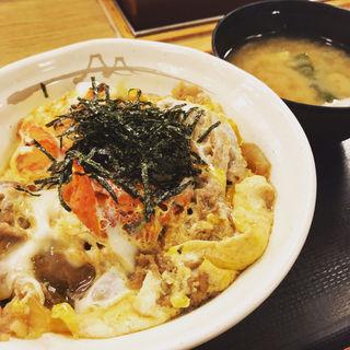 プレミアムキムチ牛とじ丼(松屋 成城学園前店 )