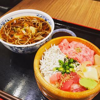 海鮮おひつ御飯と蕎麦