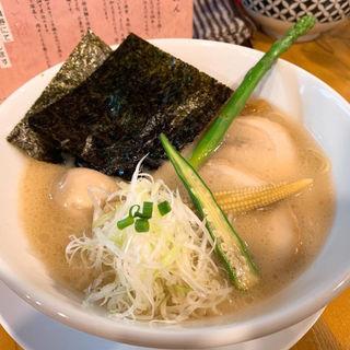 特製豚白湯(ろく月 )