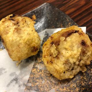 ロッシーニ(フォアグラ&牛肉)(天ぷらとワイン 小島 (コジマ))