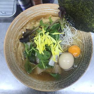 限定 イベリコ出汁ラーメン(覆麺 智 (ふくめん とも【旧店名】覆麺))