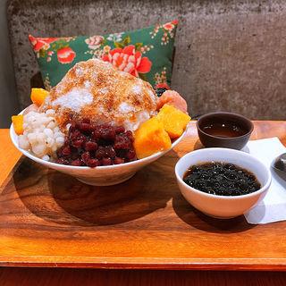 黒糖八寶冰(台湾甜商店)