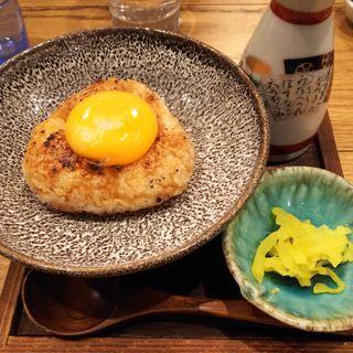 焼きおにぎり茶漬(魚炉魚炉 (ぎょろぎょろ))