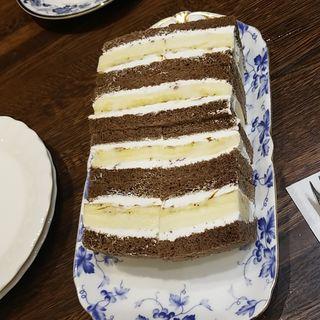 ショコラバナナサンド(銀座千疋屋)