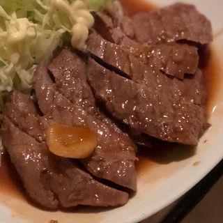 牛モモステーキ定食(きくの)