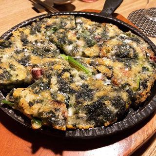 海苔チーズチヂミ