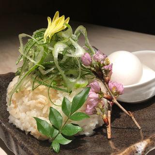 雑炊(地鶏と完全個室 伊蔵 難波店)