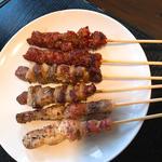 ジビエ串焼5本セット(玲玲家園菜 (カエンサイ))