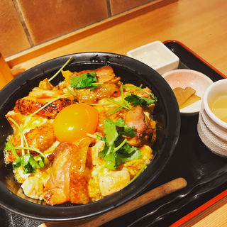 極上親子丼定食(本家あべやKITTE GRANCHE店)
