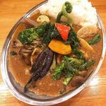 野菜ビーフカレー