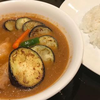 なすチキン(curry草枕)