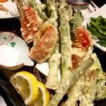 春野菜天ぷら(旬味旬菜 大和)