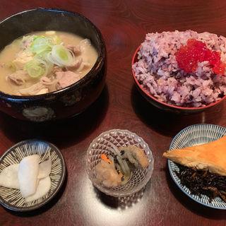 豚汁定食(酒肆 番)