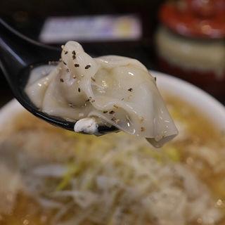 とろみワンタンうどん(極楽うどん Ah-麺)