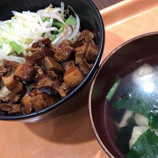 豚バラご飯セット(手作り点心舗 阿里城)