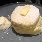 リコッタチーズパンケーキ(ミカサデコ&カフェ神宮前)