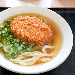 コロッケうどん(かけうどん+コロッケ)(さぬき麺児 )