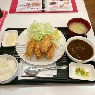 牡蠣フライランチ(ティーダイニング (T.dining))