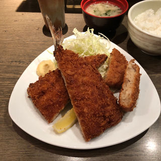 ジャンボアジフライ&牛すじコロッケ(養老乃瀧 平和台店 )