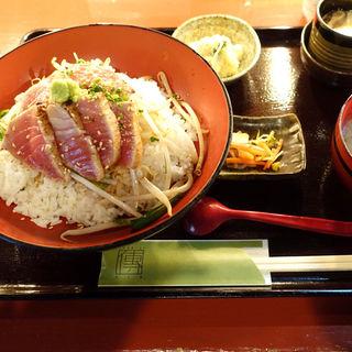 中トロ炙り丼定食(築地傳本店)