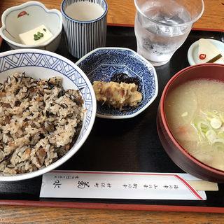 ひじきめし定食(菊水 (きくすい))