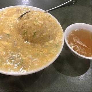 玉子あんかけ炒飯(ぶん華 (CHINEASE mini RESTAURANT))