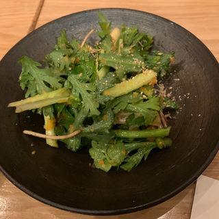 セリと春菊のサラダ(氏ノ木 )