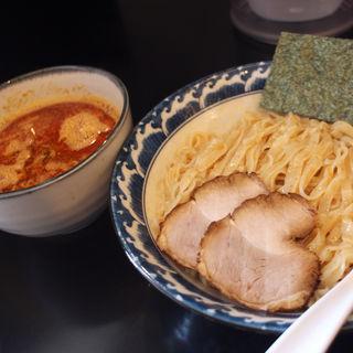 極煮干し醤油つけ麺/辛み(ラーメン ツバメ )