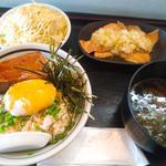 ねぎ塩チャーシュー丼セット(ねぎ塩チャーシュー丼 水喜 )