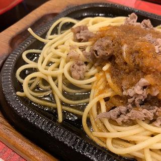 ビーフバター焼き スープ 、ライスorパン(グルメ風月 天神コア店 )